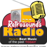 Logo of radio station Retrosounds Radio
