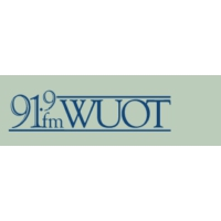 Logo of radio station WUOT NPR
