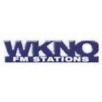 Logo of radio station WKNO