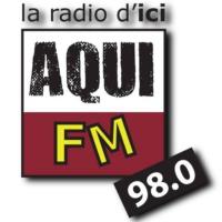 Logo de la radio Aqui FM