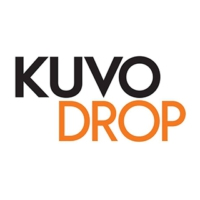 Logo of radio station KUVO DROP