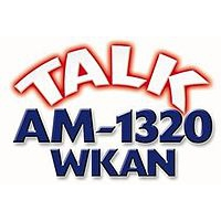 Logo of radio station WKAN Talk 1320