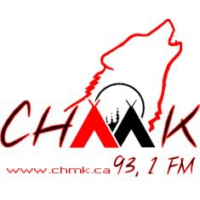 Logo of radio station CHMK 93.1