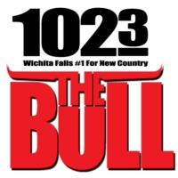 Logo of radio station KWFS 102.3 The Bull