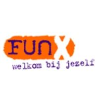 Logo of radio station FunX Amsterdam