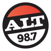Logo of radio station KYSR ALT 98.7