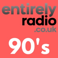 Logo of radio station Entirely Radio 90's