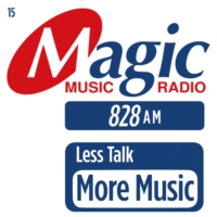 Logo of radio station Magic 828