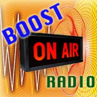 Logo of radio station BOOST Radio