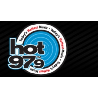 Logo of radio station KQLK Hot 97.9