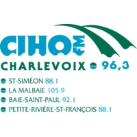 Logo of radio station CIHO 96.3