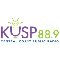Logo of radio station KUSP