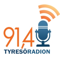 Logo of radio station Tyresöradion 91,4