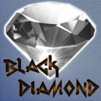 Logo of radio station Black Diamond Radio