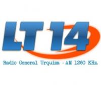 Logo de la radio LT14 Radio General Urquiza