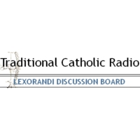 Logo of radio station Traditional Catholic Radio