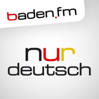 Logo of radio station baden.fm NUR deutsch