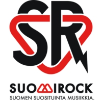 Logo of radio station SuomiRock