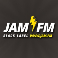 Logo de la radio Jam FM - Black Label