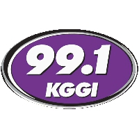 Logo of radio station KGGI 99.1