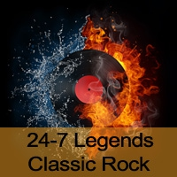 Logo of radio station 24-7 Legends Classic Rock