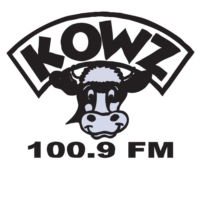Logo of radio station KOWZ 100.9