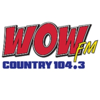 Logo of radio station KAWO WOW 104.3