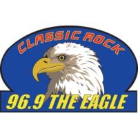 Logo of radio station KKGL 96.9 The Eagle