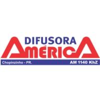 Logo of radio station Rádio Difusora América