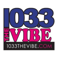 Logo of radio station KVYB 103.3 The Vibe