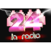 Logo of radio station 24 LA RADIO