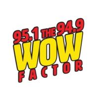 Logo of radio station KOAI 95.1 The Wow Factor