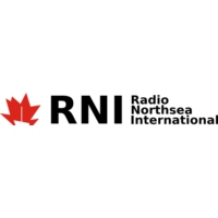 Logo of radio station Radio North Sea International