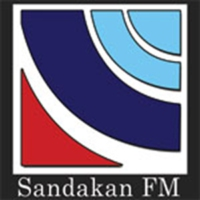 Logo of radio station RTM Sandakan FM