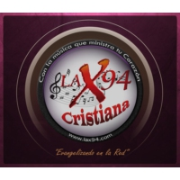 Logo de la radio LA X94 - Radio Cristiana