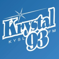 Logo of radio station KYSL Krystal 93