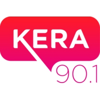 Logo of radio station KERA