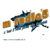 Logo of radio station m-radio5