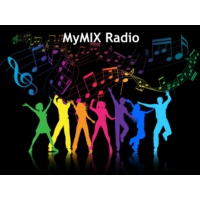 Logo of radio station MyMix Radio