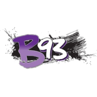 Logo of radio station KZBT B93
