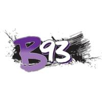 Logo of radio station KZBT B93