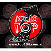 Logo of radio station Radio Top 104.3
