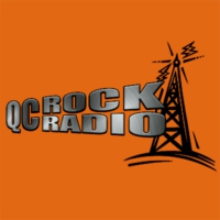 Logo of radio station QcRock Radio