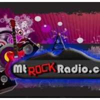 Logo of radio station KSAK Mt Rock