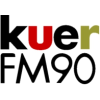Logo of radio station KUER 90.1 FM
