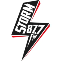 Logo of radio station Storm FM