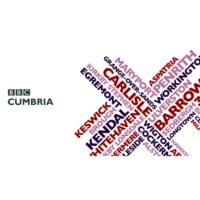 Logo of radio station BBC Radio Cumbria