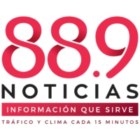 Logo of radio station XHM-FM 88.9 Noticias
