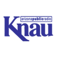 Logo of radio station KNAU Arizona Public Radio