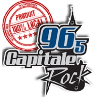 Logo of radio station CFTX Capitale Rock
